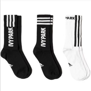 🆕 IVY PARK x adidas Logo Socks 3 Pack XXL